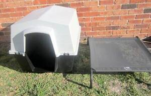 Large dog Kennel + Bed. Watanobbi Wyong Area Preview