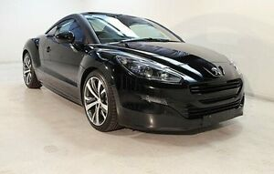 2013 Peugeot RCZ MY13 Black 6 Speed Manual Coupe Wayville Unley Area Preview