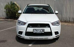 2010 Mitsubishi ASX White Manual Wagon Morphett Vale Morphett Vale Area Preview