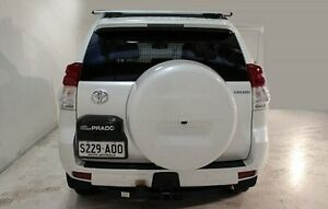 2011 Toyota Landcruiser Prado GRJ150R Kakadu White 5 Speed Sports Automatic Wagon Wayville Unley Area Preview