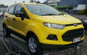 2013 Ford Ecosport BK Ambiente PwrShift Yellow 6 Speed Sports Automatic Dual Clutch Wagon Tweed Heads South Tweed Heads Area Preview
