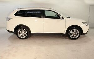 2014 Mitsubishi Outlander ZJ MY14.5 LS 4WD White 6 Speed Sports Automatic Wagon Wayville Unley Area Preview