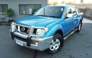 2007 Nissan Navara D40 ST-X Blue 6 Speed Manual Utility Lilydale Yarra Ranges Preview