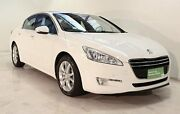 2012 Peugeot 508 Allure HDI White 6 Speed Sports Automatic Sedan Wayville Unley Area Preview