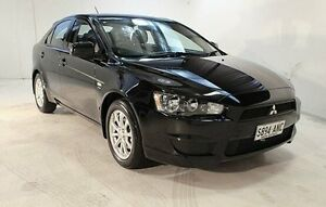 2011 Mitsubishi Lancer CJ MY11 SX Sportback Black 5 Speed Manual Hatchback Wayville Unley Area Preview