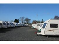 Secure Caravan Storage CCTV Alarm Security YEOVIL