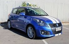 2012 Suzuki Swift  Blue Manual Hatchback Morphett Vale Morphett Vale Area Preview
