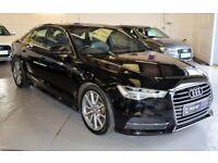 AUDI A6 2.0 TDI ULTRA S LINE 4DR SEMI AUTOMATIC (black) 2014