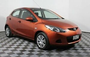 2009 Mazda 2 DE10Y1 Neo Orange 4 Speed Automatic Hatchback Edwardstown Marion Area Preview