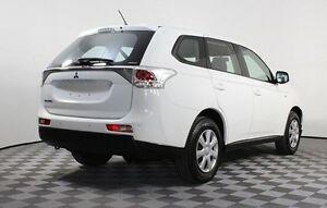 2012 Mitsubishi Outlander White Constant Variable Wagon Morphett Vale Morphett Vale Area Preview