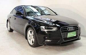 2013 Audi A4 B8 8K MY13 Multitronic Black 8 Speed Constant Variable Sedan Wayville Unley Area Preview