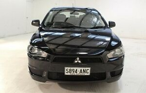 2011 Mitsubishi Lancer CJ MY11 SX Sportback Black 5 Speed Manual Hatchback Wayville Unley Area Preview