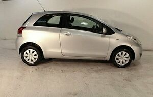 2011 Toyota Yaris NCP90R MY11 YR Silver 5 Speed Manual Hatchback Wayville Unley Area Preview