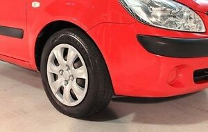 2009 Hyundai Getz TB MY09 S Red 4 Speed Automatic Hatchback Wayville Unley Area Preview