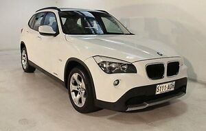 2011 BMW X1 E84 MY0911 sDrive18i Steptronic White 6 Speed Sports Automatic Wagon Wayville Unley Area Preview