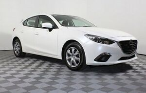 2014 Mazda 3 BM5478 Neo SKYACTIV-Drive White 6 Speed Sports Automatic Hatchback Edwardstown Marion Area Preview