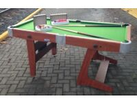 NEW pool / snooker table 6ftx3ft