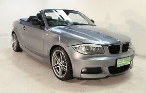 2013 BMW 118d E88 LCI MY1112 Steptronic Grey 6 Speed Sports Automatic Convertible Wayville Unley Area Preview