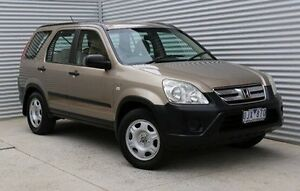 2005 Honda CR-V RD MY2005 4WD Gold 5 Speed Manual Wagon Thomastown Whittlesea Area Preview