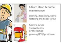 Gleam clean & home maintenance