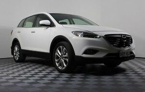 2013 Mazda CX-9 TB10A5 MY14 Luxury Activematic AWD White 6 Speed Sports Automatic Wagon Edwardstown Marion Area Preview