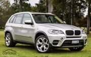 2013 BMW X5 E70 MY1112 xDrive30d Steptronic Silver 8 Speed Sports Automatic Wagon Victoria Park Victoria Park Area Preview