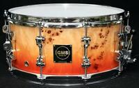 ATTENTION : Snare Special édition en maple et mappa burl !