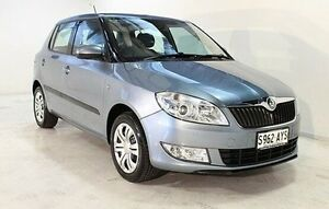 2011 Skoda Fabia 5JF 77TSI Blue 5 Speed Manual Hatchback Wayville Unley Area Preview
