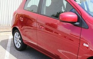2013 Mitsubishi Mirage Red Manual Hatchback Morphett Vale Morphett Vale Area Preview