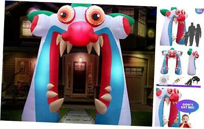 10 ft Inflatable Halloween Clown Arch Yard Decoration - Clown Arch Inflatable D