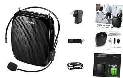 Portable Rechargeable Mini Voice Amplifier with Wired Microp