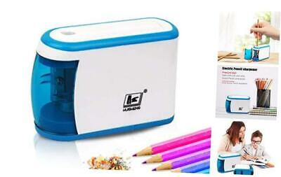 Electric Pencil Sharpenersutoroo Battery Powered Fast Sharpen To Prevent