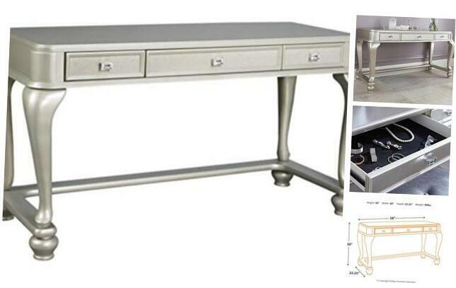 Ashley Furniture Signature Design - Vanity - 3 Drawer - Contemporary Coralayne