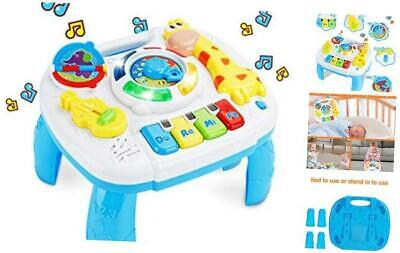 baccow Baby Toys 6 to 12-18 Months Musical Educational Learning Activity Table