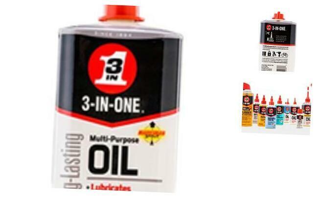 3-IN-ONE Multi-Purpose Oil, 8 OZ 1-Pack