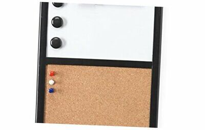 Magnetic Dry Erase And Cork Board Combo For Kitchen And Office White