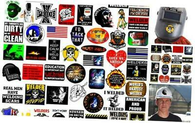 Welding Stickers 40 Mega Pack Welders Stickers And Decals Funny Stickers For