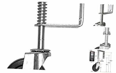 Shepherd Hardware 8735 Hard Rubber Spring-loaded Gate Caster With 5-inch Wheel