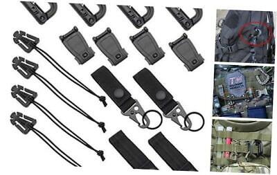 dgq kit of 16 attachments for molle