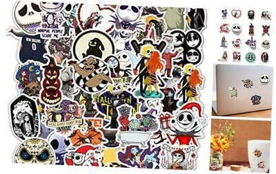Halloween Sticker Decals 50 Pack Nightmare Before Christmas Tim Burton's Gifts