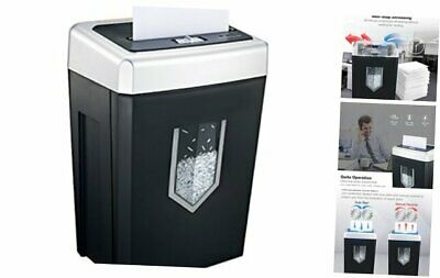 14-sheet Cross-cut Heavy Duty Paper Shredder 30-minute Continuous Running Time