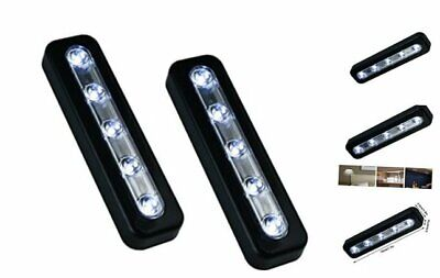 "24/"" LED Flex Light Strip Super Bright Stick Anywhere Drawers Shelves Cabinet Car"