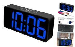DreamSky 8.9 Inches Large Digital Alarm Clock with USB Charging Port, Fully Adju