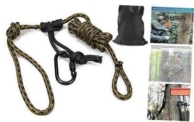 10 Feet Linemans Rope Lineman Belt Tree Climbing Harness Quick Easy Quiet