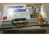 New in the box Knitting Machine RRP £110 US £50