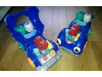 Leapfrog cars