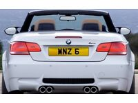 Cherished Number Plate - WNZ 6