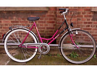 Vintage ladies dutch bike HARTJE from Holland frame size 20 - NEW brakes TYRE - serviced - Welcome