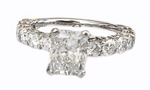 Radiant Cut Diamond Ring 1.51ct EVS2 GIA Certified Bondi Junction Eastern Suburbs Preview