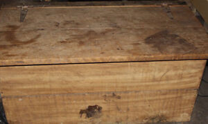 BLANKET BOX MADE FROM OLD BARN WOOD